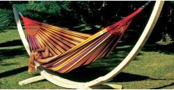 Hamaca Paradiso Tropical + soporte Troya