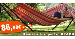 Hamaca + soporte: Beach Set