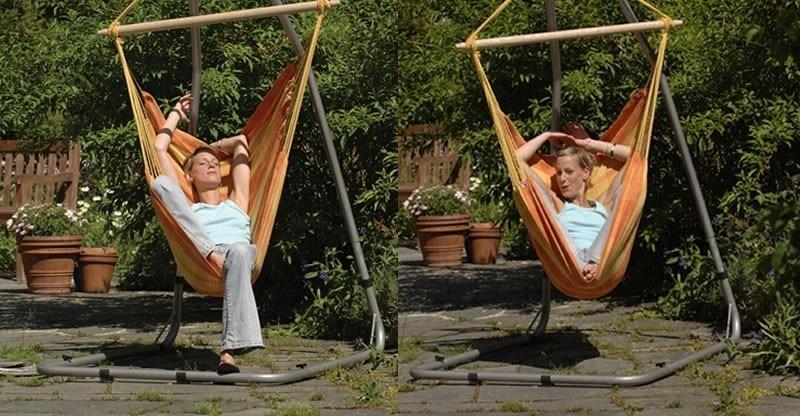 Hamaca silla relax orange - Soportes de hamacas ...