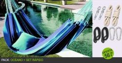 PACK: Hamaca OCÉANO + Set Rápido