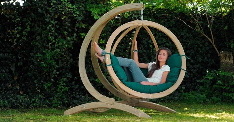 Hamaca Globo Chair + Soporte Globo